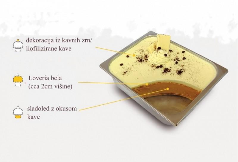 Kremino Kapučino - recept za sladoled