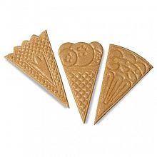 Dekoracija Bisqui Trikotniki 280kos CIA165