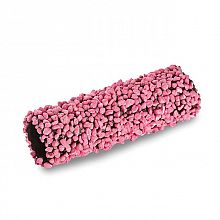 Dolge rolice roza dekor 100mm 84kos CAN1011