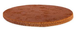 BISKVIT OKROGEL KAKAV fi24 v=1,3cm PAN DI SPAGNA 523032