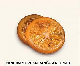 kandirana pomaranča v rezinah