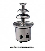 mini čokoladna fontana