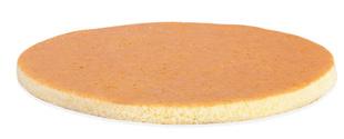 BISKVIT OKROGEL fi26 v=1,3cm PAN DI SPAGNA 523028