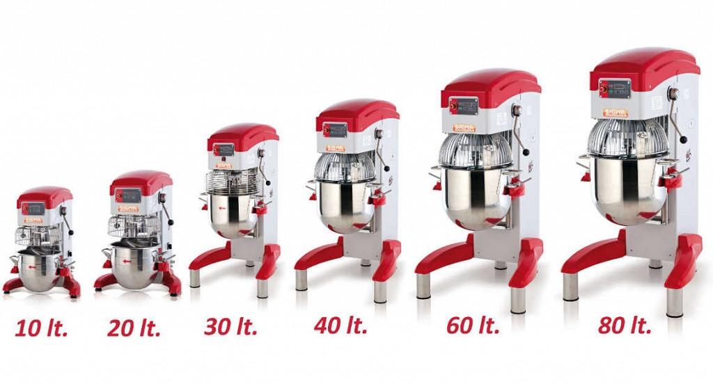 Profesionalni kuhinjski robot - nabor velikosti!