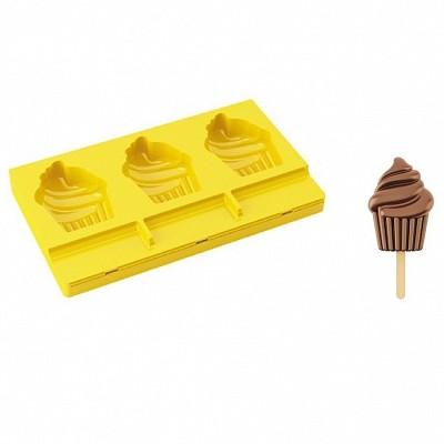 CUPCAKE - za 3 slad. lučke PL09 silikonski model