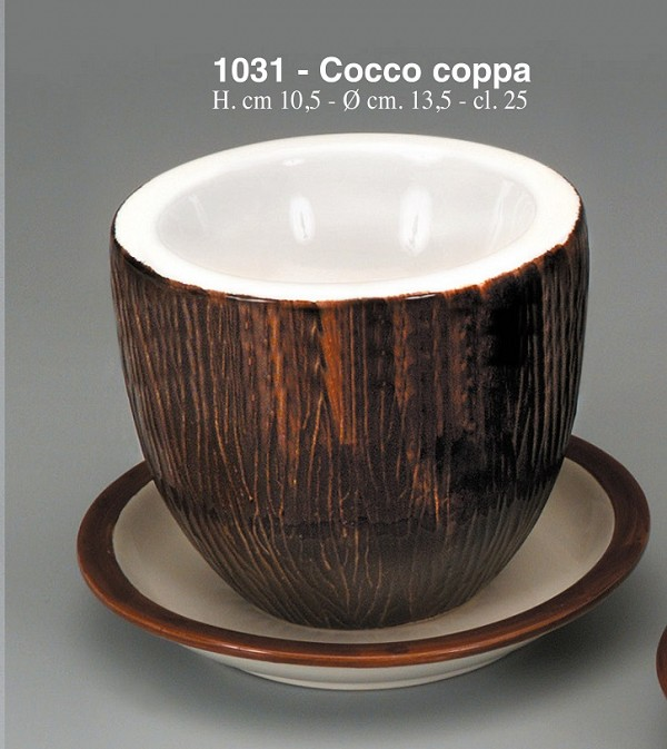 Keramična skleda Kokos Art.1031