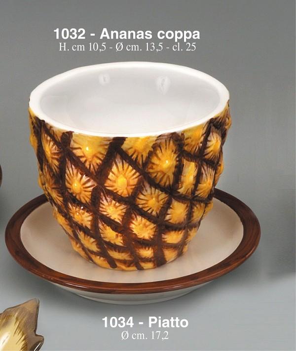 Keramična skleda Ananas Art.1032